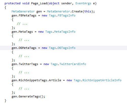 Meta tag generator - 2